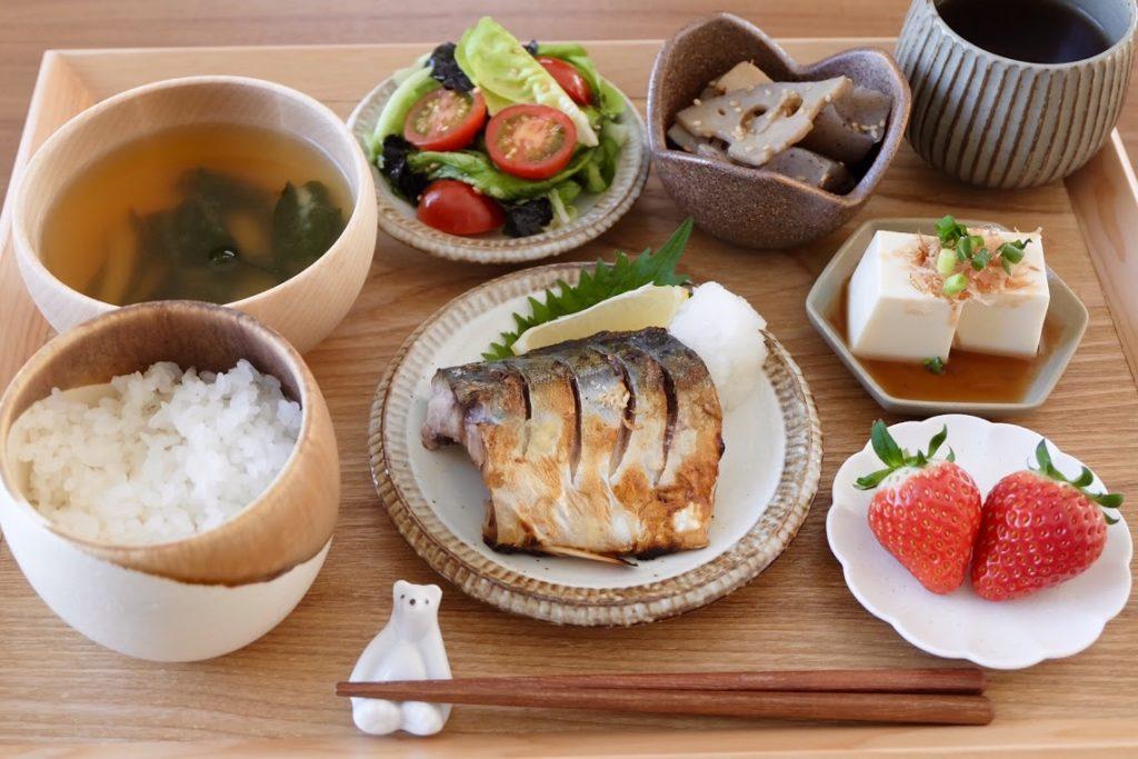 きょうの一汁三菜ごはん#4【ごはん日記】
