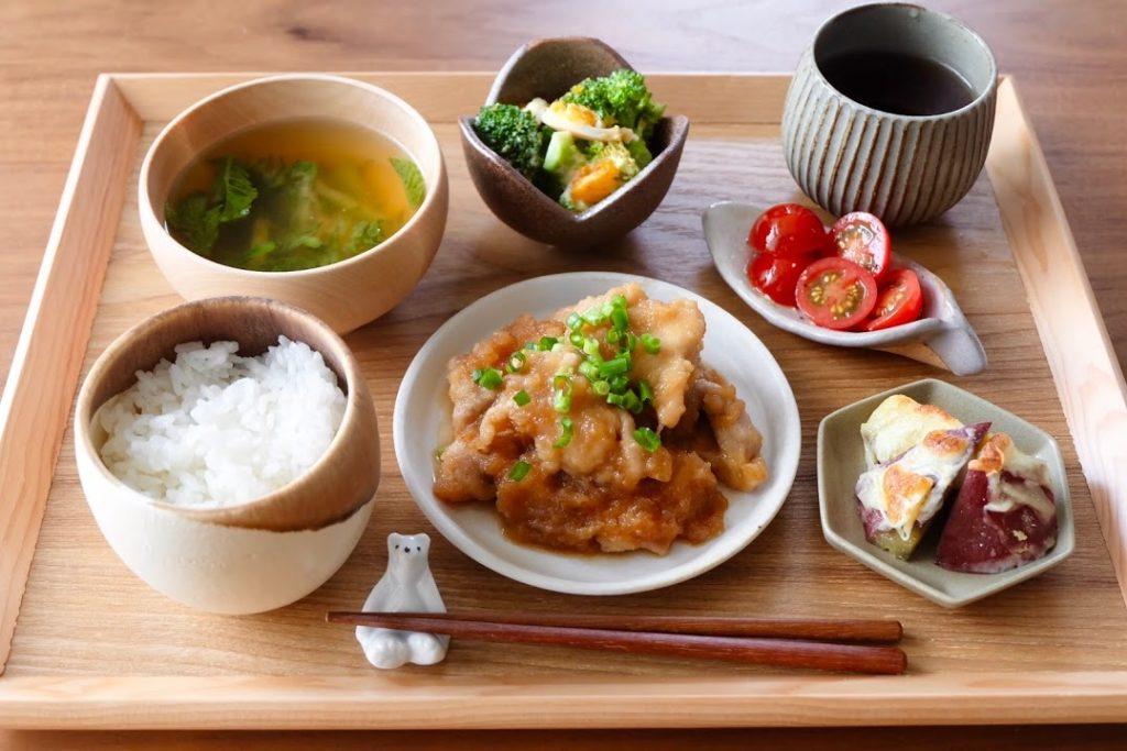 きょうの一汁三菜ごはん#3【ごはん日記】