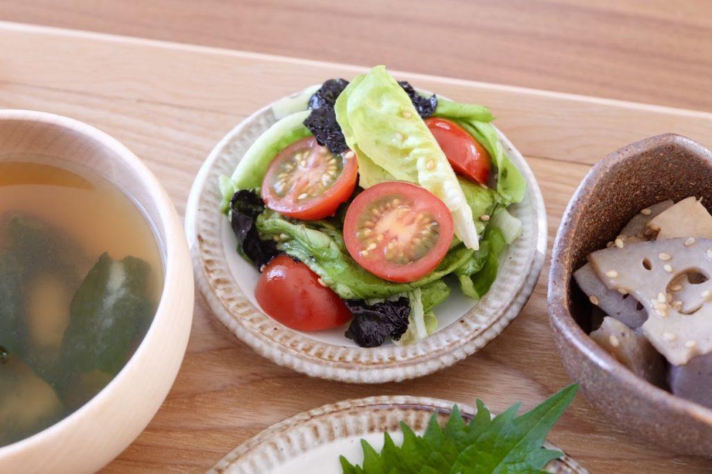 チョレギ風♪彩りサラダ