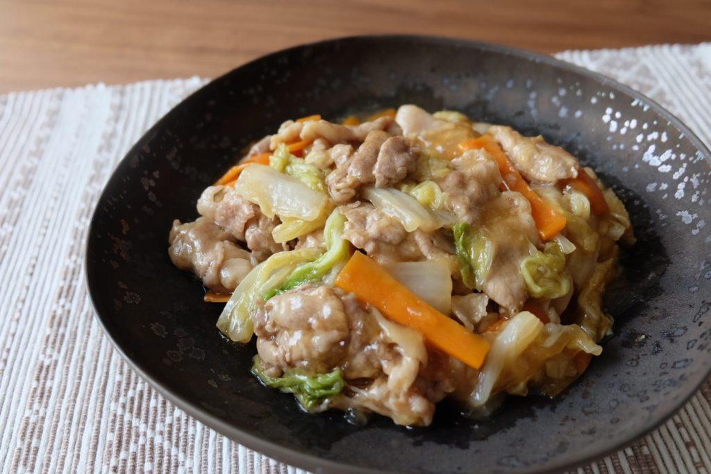 とろーり豚肉と白菜のポン酢煮