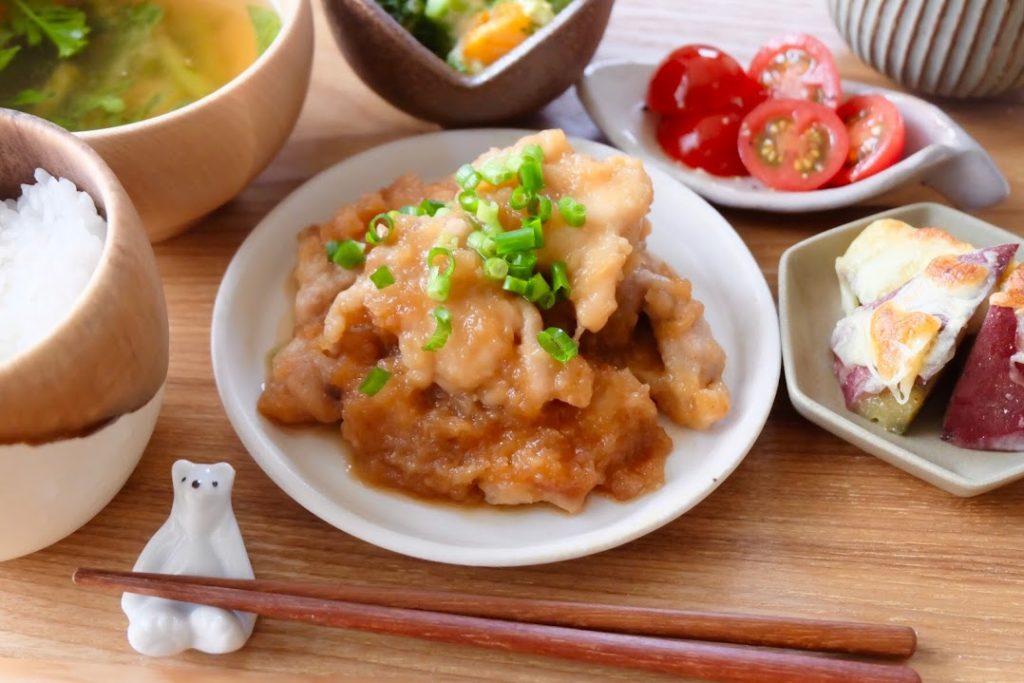 ジューシー♪鶏のみぞれ煮【平日の時短ごはんレシピ】
