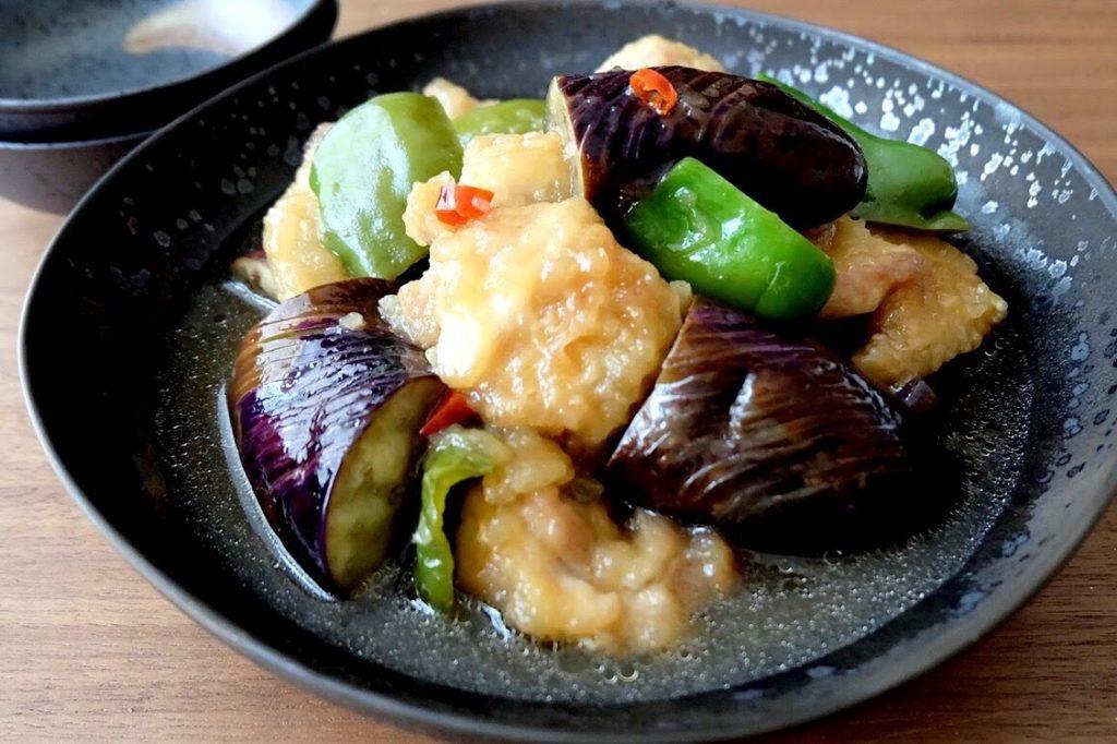 揚げない♪鶏肉と夏野菜の南蛮煮【平日の時短ごはんレシピ】