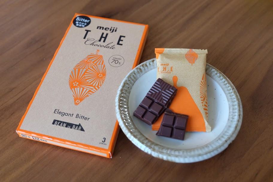 明治 THE chocolateカカオ70%