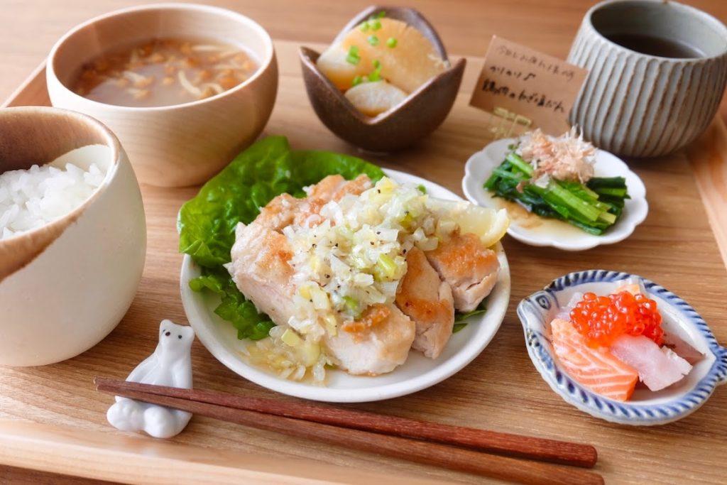 きょうの一汁三菜ごはん#7【ごはん日記】