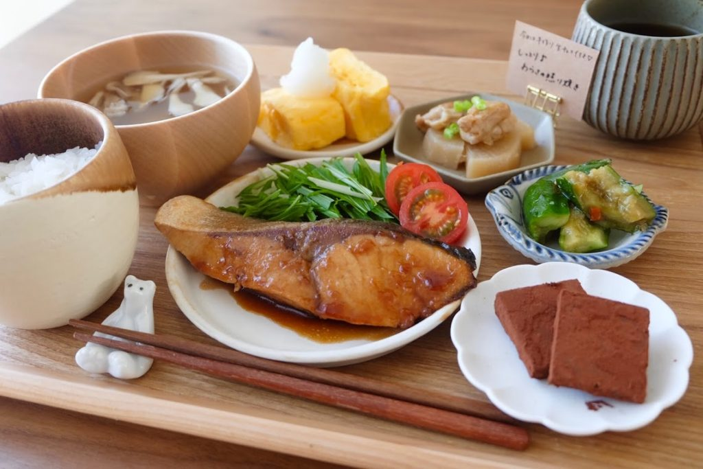 きょうの一汁三菜ごはん#8【ごはん日記】