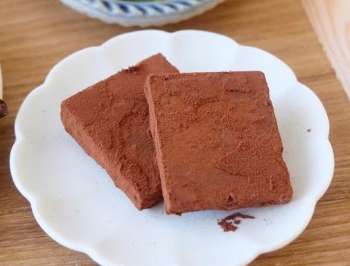 簡単すぎる♪生チョコレート