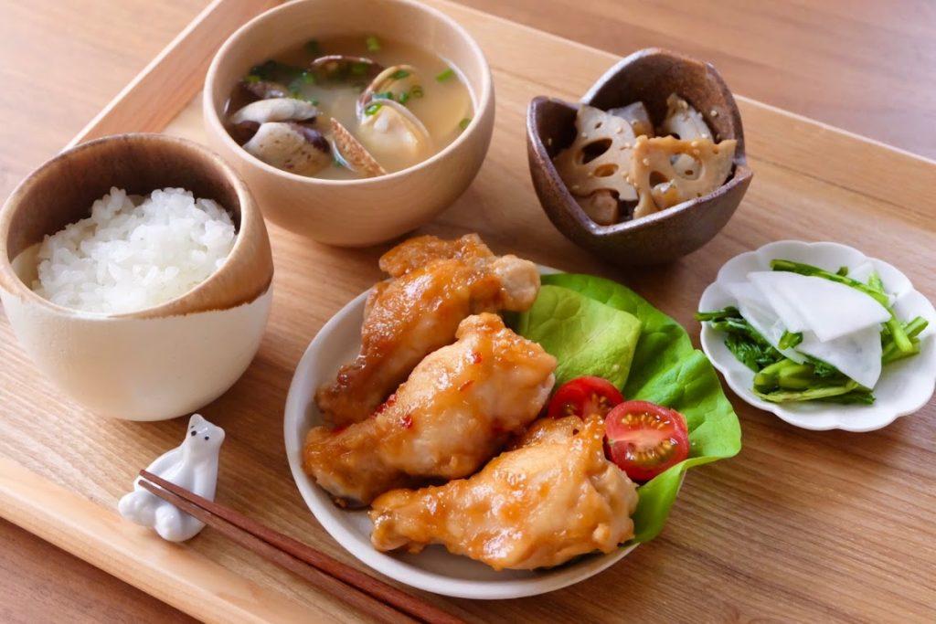 きょうの一汁三菜ごはん#1【ごはん日記】