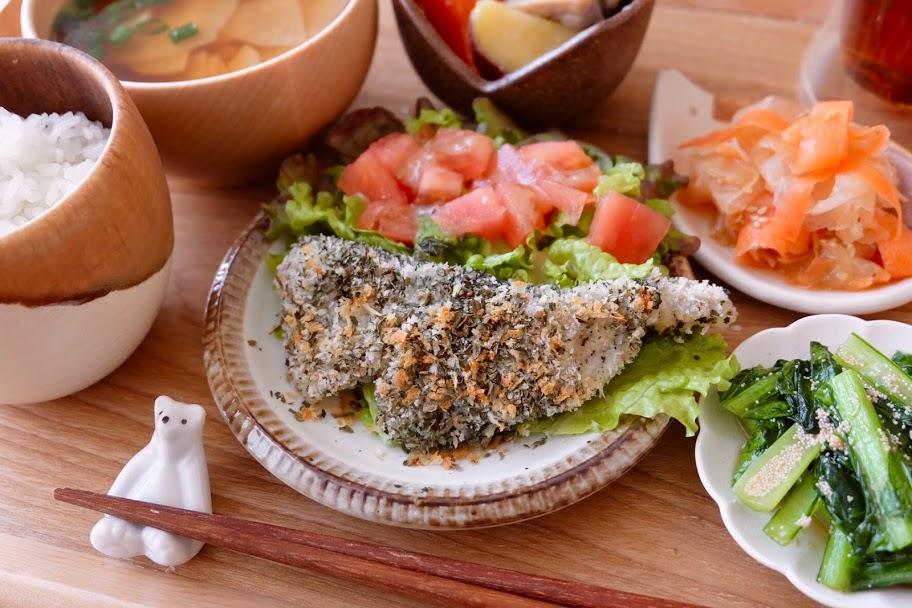 白身魚のパン粉焼き【平日の時短ごはんレシピ】
