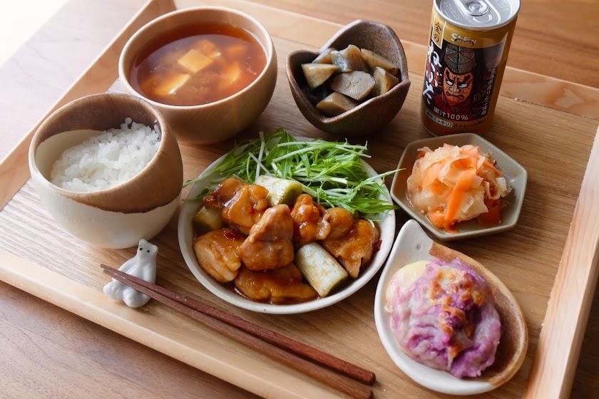 きょうの一汁三菜ごはん#15【ごはん日記】