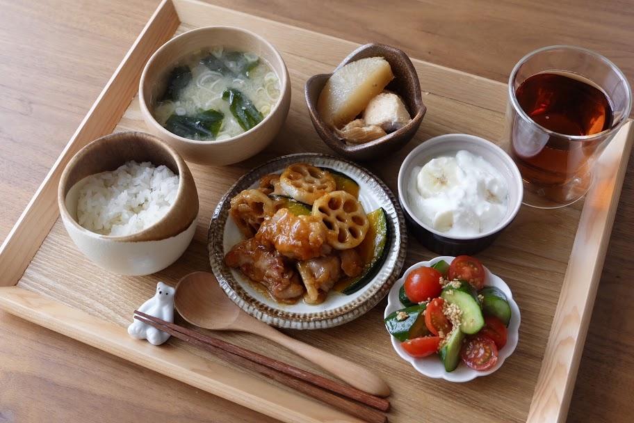 きょうの一汁三菜ごはん#21【ごはん日記】