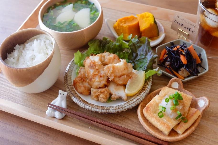 きょうの一汁三菜ごはん#14【ごはん日記】
