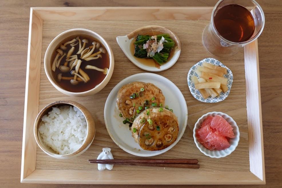 きょうの一汁三菜ごはん#26【ごはん日記】