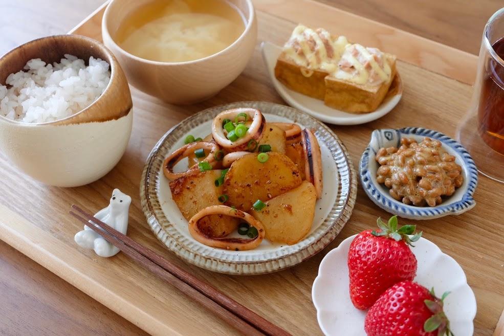 きょうの一汁三菜ごはん#27【ごはん日記】