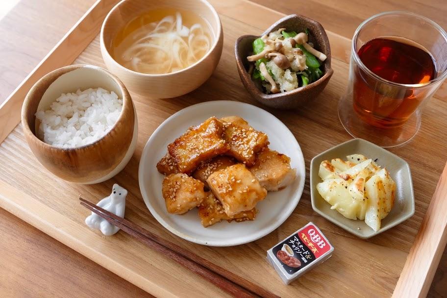 きょうの一汁三菜ごはん#28【ごはん日記】