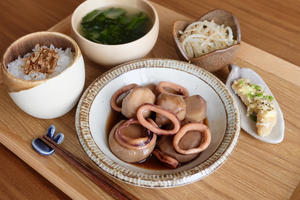 きょうの一汁三菜ごはん#29【ごはん日記】