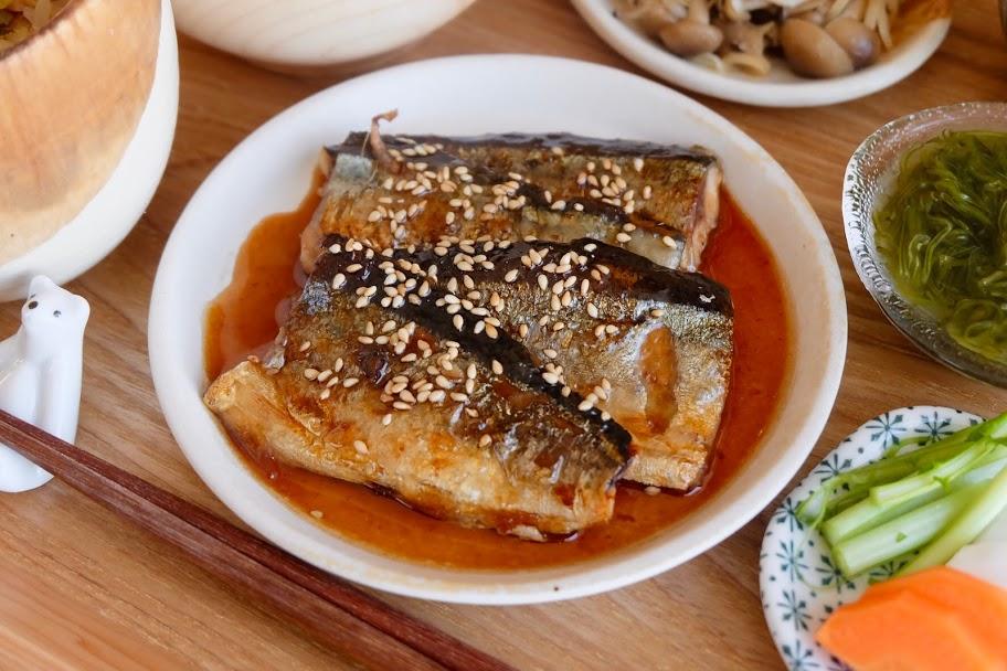 簡単♪さんまの蒲焼き【平日の時短ごはんレシピ】