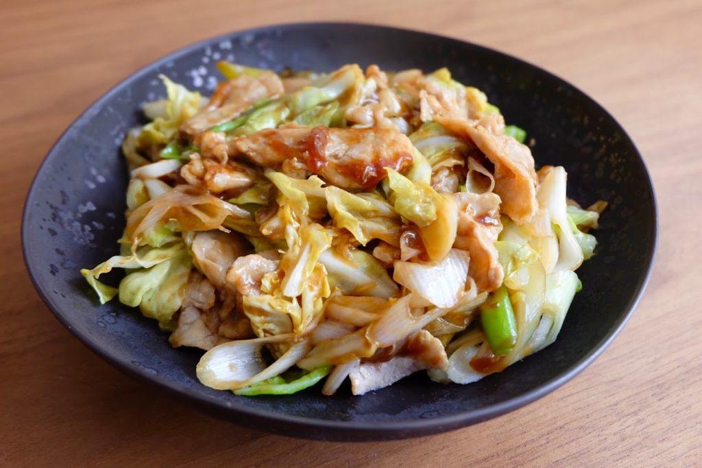 簡単♪野菜たっぷり回鍋肉【平日の時短ごはんレシピ】