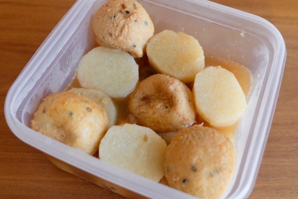 ホクホク長芋とがんもの煮物【週末の作り置きおかずレシピ】
