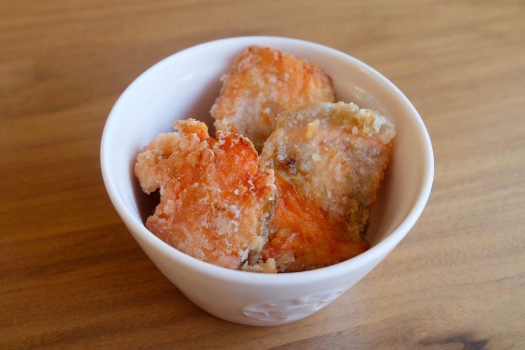 鮭の竜田揚げ焼き【週末の作り置きおかずレシピ】