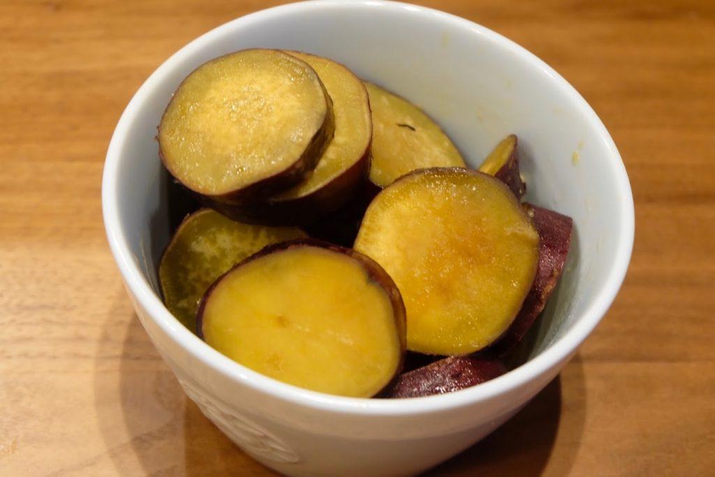 ホクホク♪さつま芋のバターしょうゆ煮【週末の作り置きおかずレシピ】