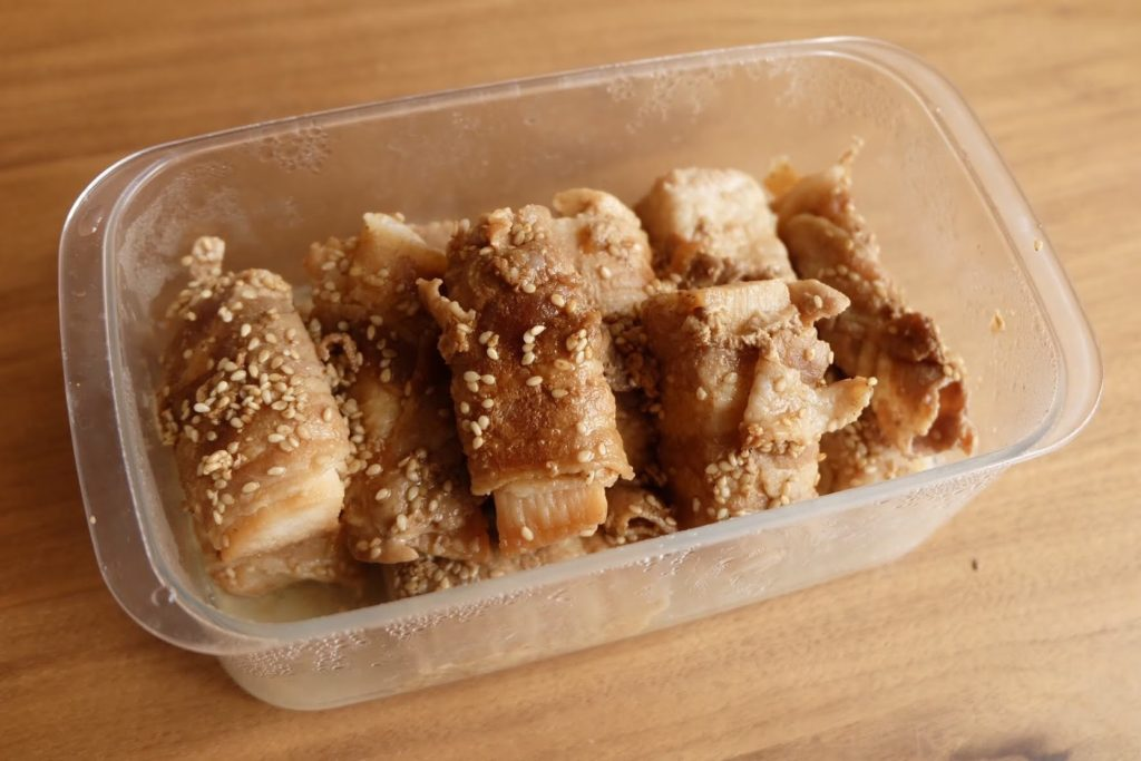 ホクホク♪長芋の豚バラ巻き【週末の作り置きおかずレシピ】