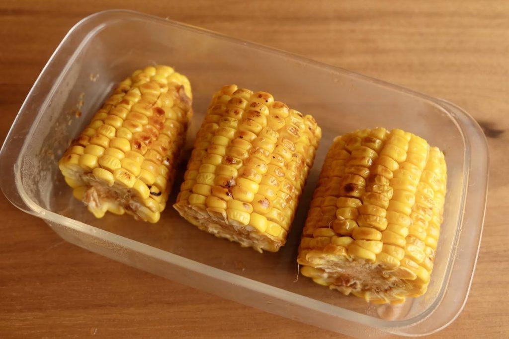 とうもろこしのバター醤油焼き【週末の作り置きおかずレシピ】