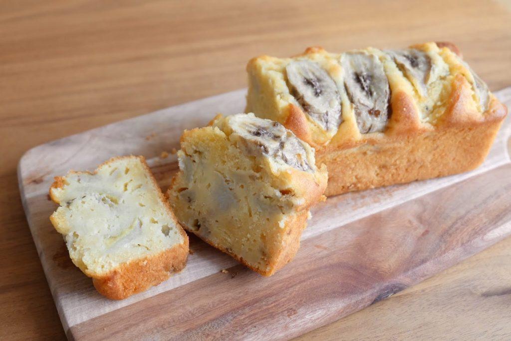 サワークリームで♡バナナパウンドケーキ【お菓子・デザートレシピ】