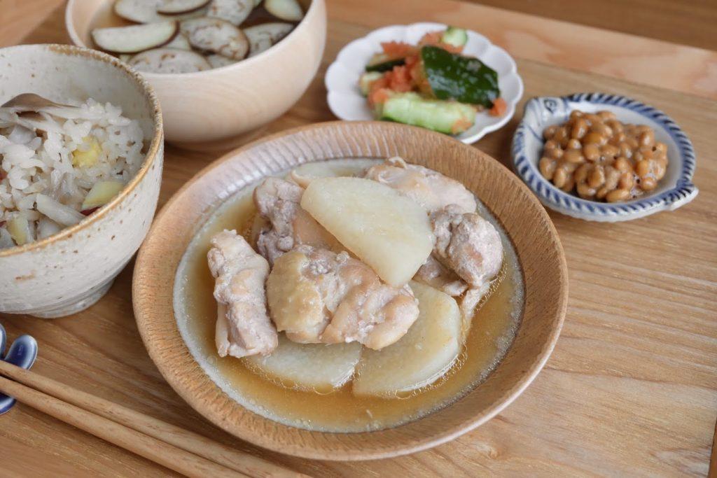 長芋と鶏肉のほくほく煮【だしうまレシピ】