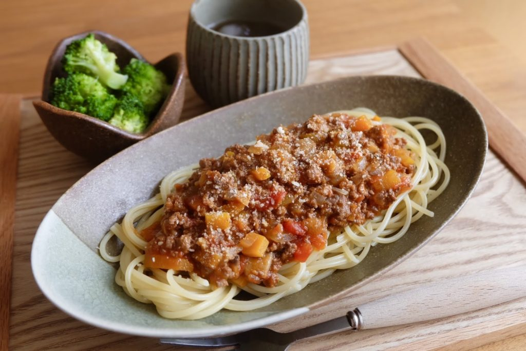 野菜のうま味たっぷり♪ミートソース【だしうまレシピ】