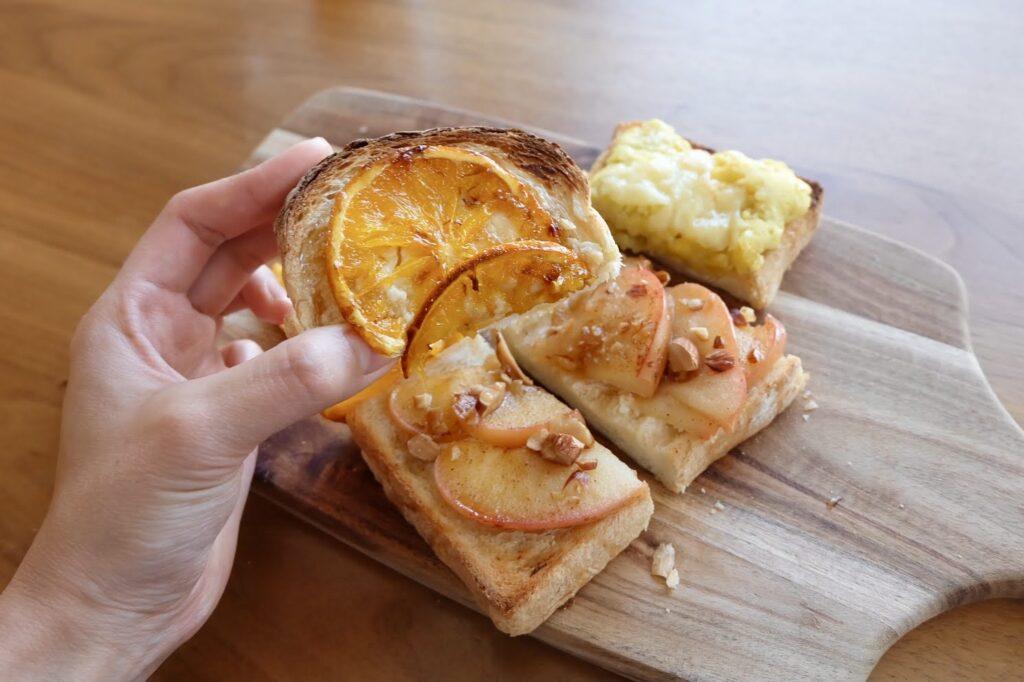 冷凍作り置き♪キャラメリゼオレンジトースト