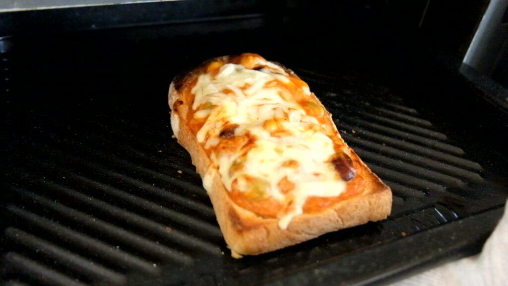 冷凍作り置き♪ツナとお豆のトースト
