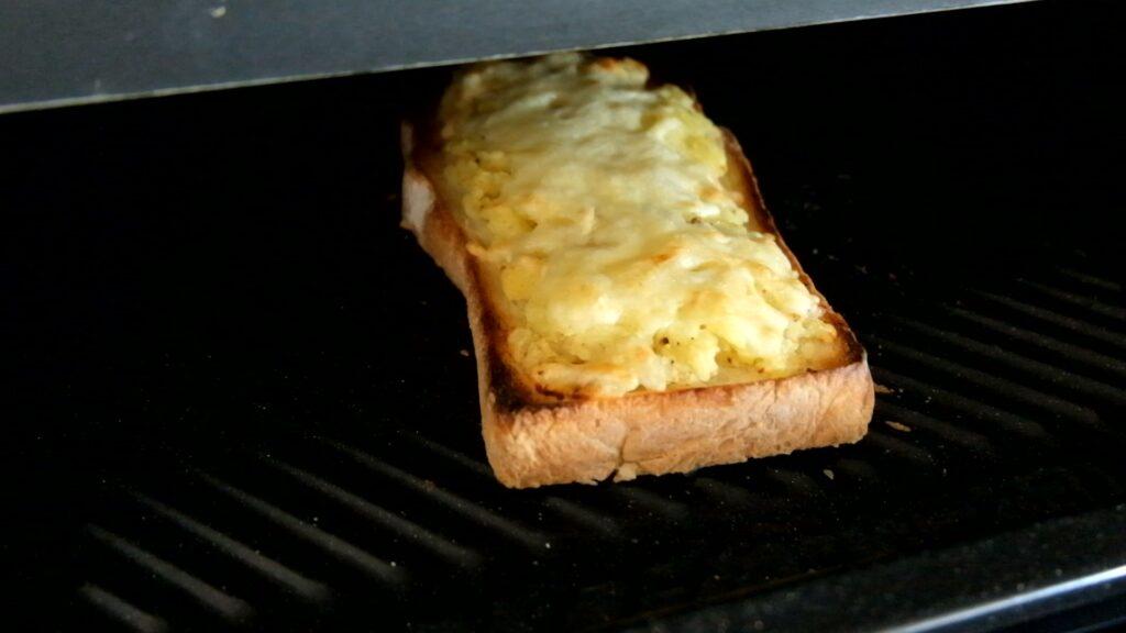 冷凍作り置き♪マッシュポテトトースト