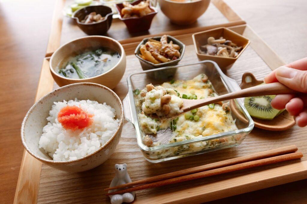 長芋と納豆のチーズ焼き【平日の時短ごはんレシピ】
