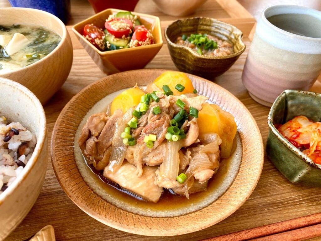 簡単♪鶏じゃが【平日の時短ごはんレシピ】