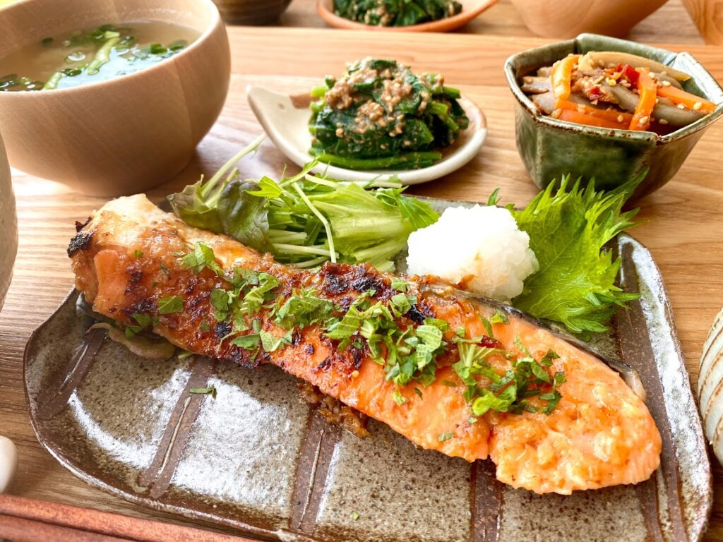 簡単♪鮭の大葉香味焼き【平日の時短ごはんレシピ】