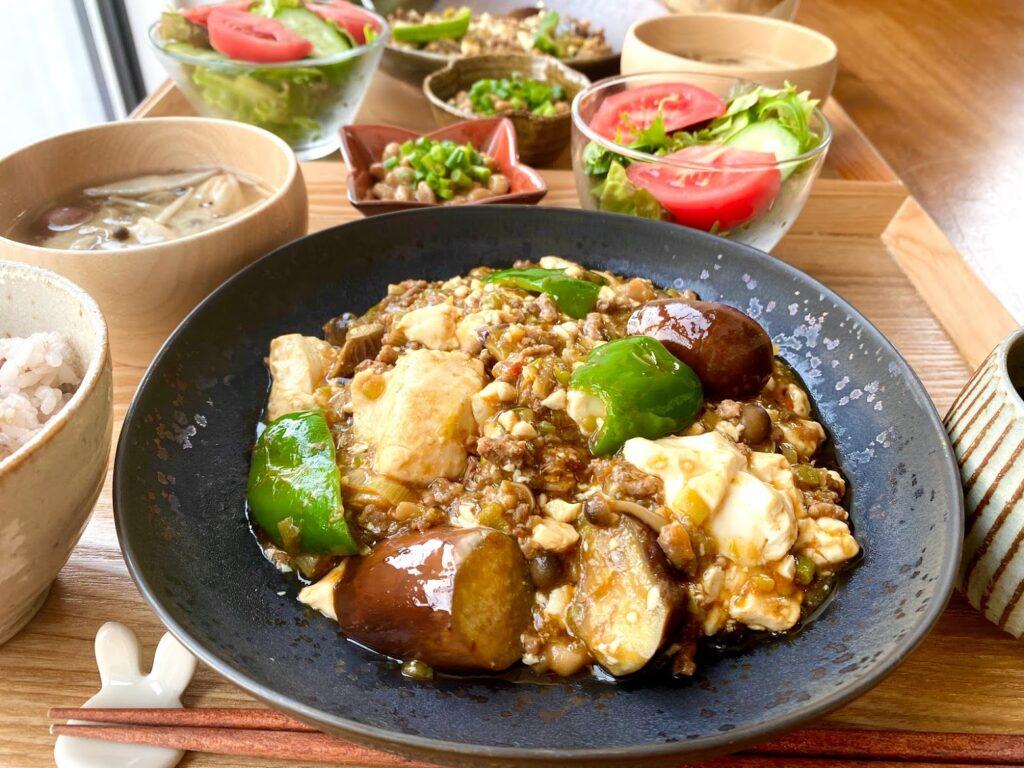 簡単♪野菜たっぷり麻婆豆腐【平日の時短ごはんレシピ】