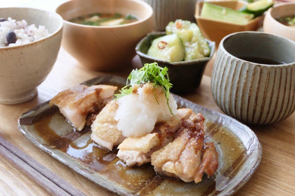 鶏のグリル~大葉おろし~【平日の時短ごはん】